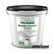 Trax  Trax black rimseal 5kg (paste) 102R-500-BU01