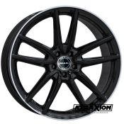 8x18 5x112 ET33 CTR66.6 Alu Mak Evo . Gloss Black Mirror Ring (DED:Mercedes-Benz ) F8080EVGL33WSX