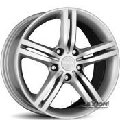 7x17 5x114.3 ET40 CTR76 Alu Veloce  (Mak) Silver F7070UO40FF