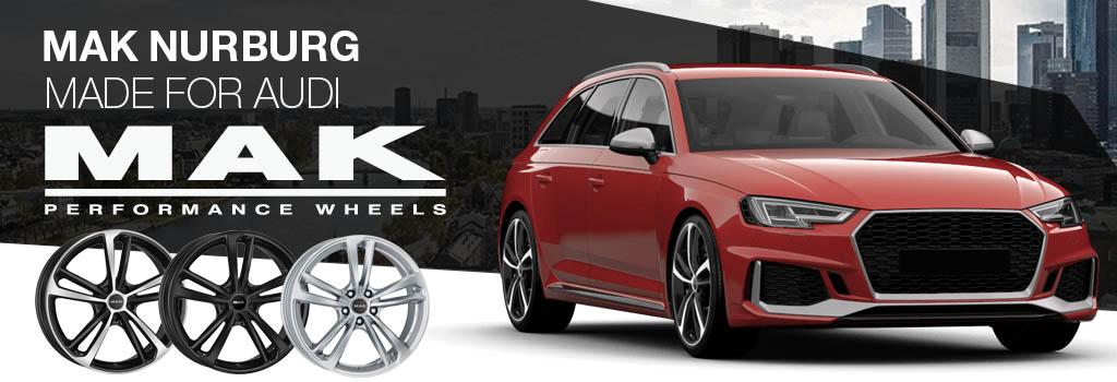 MAK Nurburg Speciaal VOOR Audi
