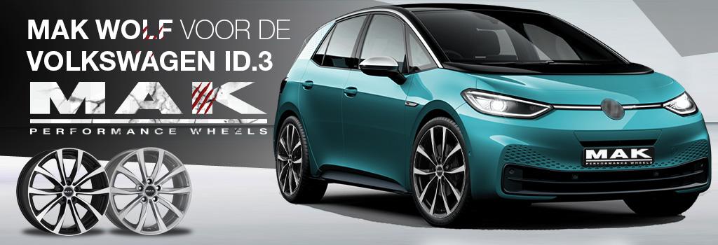 MAK velgen voor de Volkswagen ID.3