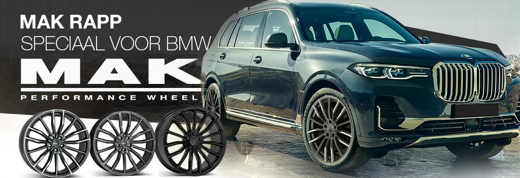 MAK velgen voor BMW