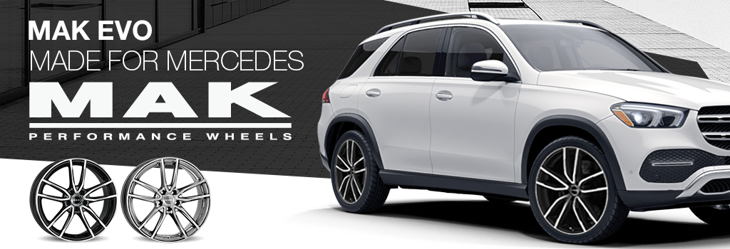 MAK wheels for Mercedes