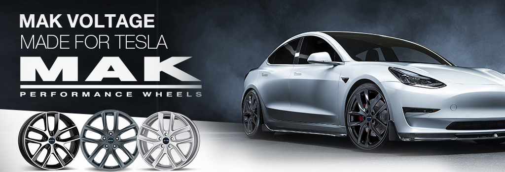 MAK wheels for Tesla