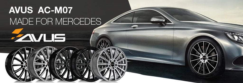 Avus wheels for Mercedes