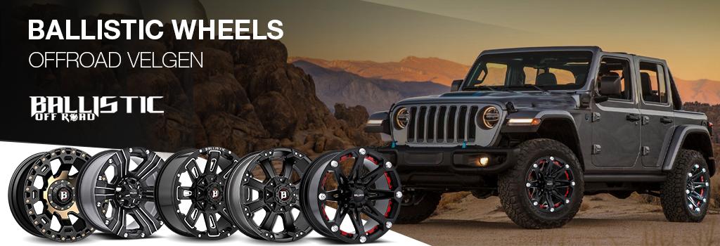 Promo: Ballistic Wheels Stoer En Betrouwbaar