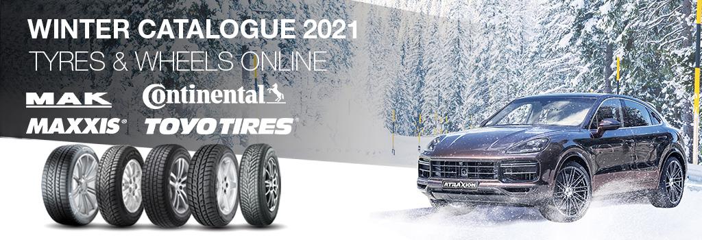 Atraxion catalogue winter tyres and wheels 2021