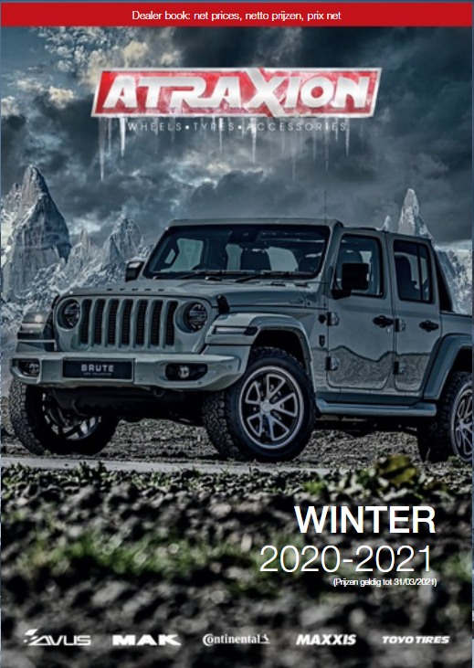 AtraXion wheel/tyre winterbook